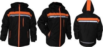 EXPLICO куртка рабочая светоотражающая водонепроницаемый года. L