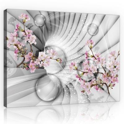 Изображение ??? салон ?????????? цветы 3D Туннель 100x70