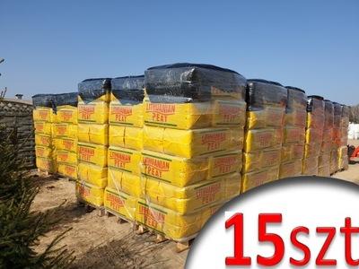 15-Rašelina je Kyslé HEATH 250L prepravné palety borowka