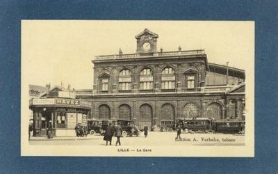 ЛИЛЛЬ. LA GARE. 191-?