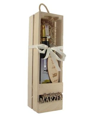 коробка вино Компания логотип гравер свой СОБСТВЕННЫЙ ТЕКСТ