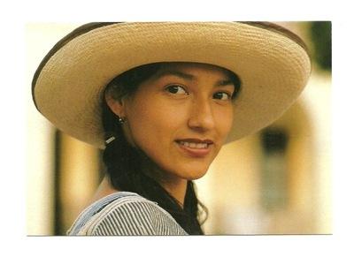 П / я - Welman, Молодая женщина соломенная шляпа