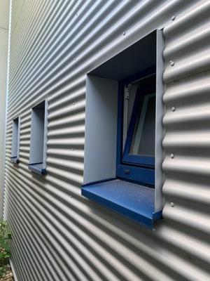Жесть falowana, гофрированный, фасад, JIC 18 -76