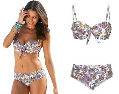 cd27f33a1a82c0 BONPRIX strój kąpielowy bikini tankini PACYFKI 146 - 7309844613 ...