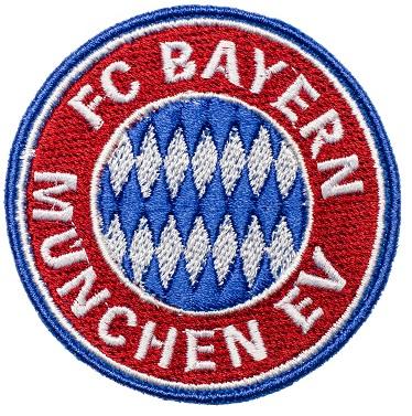 Naszywka FC BAYERN MUNCHEN Łatka Naprasowanka HAFT