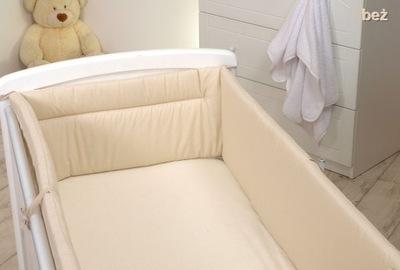ПРОТЕКТОР 360 на кроватку 60x120 крупный жесткая