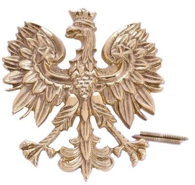Орел  польский  20 см.латунь / патина