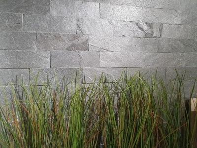 камень Фасадная Сланец Silver Grey 30x10
