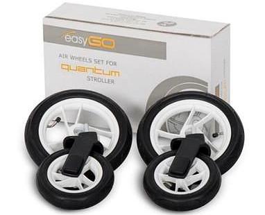 KOMORA kolesá NA KOČÍK EasyGo Quantum - NASTAVENIE