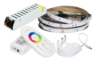 комплект 10м лента LED 5050 RGB + Белый Р. Instagram