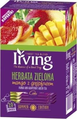 чай зеленый IRVING Манго с Грейпфрутом 20 штук