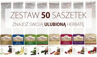 Сэр Уильямс Royal Taste 50 отборных чаев ароматы