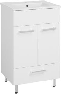 Шкаф С раковиной 50 x40 стоящая блеск ящик