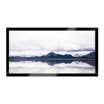 пейзаж Сказочный Сон в воздухе, смешиваясь с облаками в горах