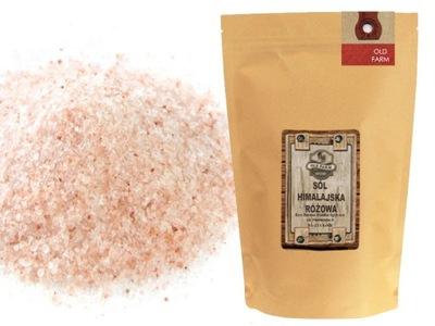 соль гималайская МАЛЕНЬКАЯ 1 КГ розовая БЕЗ CHEMI В 24G