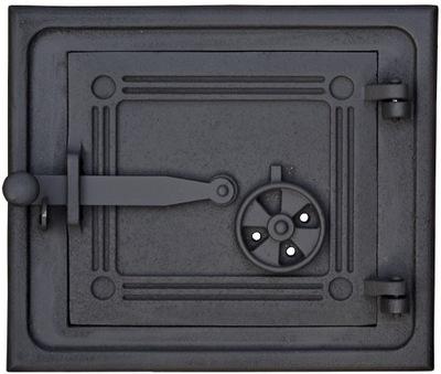 Dvere do pece na chlieb, liatinová udiareň, 28 cm