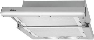 вытяжка Amica OTS6234I мм Inox 60 СМ LED