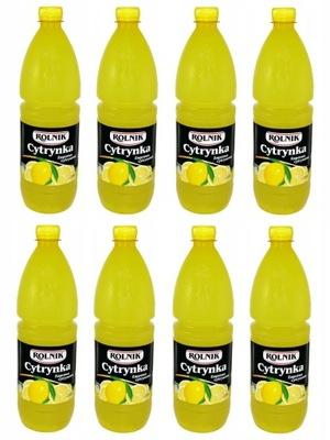 Раствор лимонная cytrynka 1 литр Фермер 1000ml x8