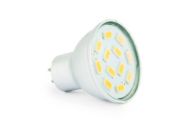 Лампа LED MR11 MR16 12В ПЗС-35 3W галогенные маленький