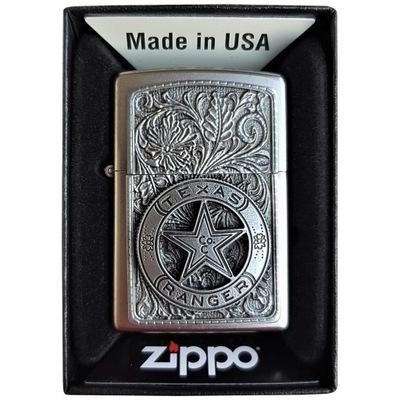 Зажигалка ZIPPO Техасский Ranger