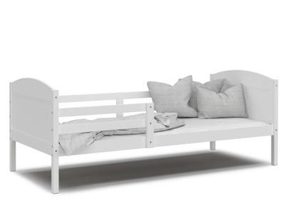 кровать МАТФЕЙ P белое белое без ящик 200x90