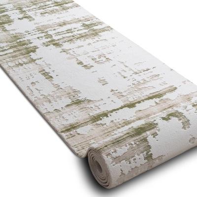 CHODNÍKU AKRYL 100 cm DIZAYN zelená krém *Q2698