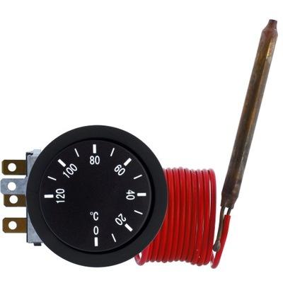 Mechanický termostat regulátor teploty 0-120C