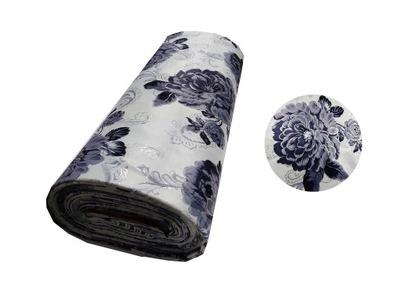 Ткань шторы цветы НАРОДНАЯ 280CM BLACKOUT