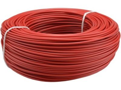 Kábel drôt drôt DY 750V 1. 5mm2 červená 100m