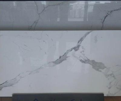 плитки 60x120 80x80 белое CALACATTA блеск Мрамор
