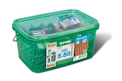 SPAX-D podlaha Skrutky, 5x50 A2 T25 550 dielna sada