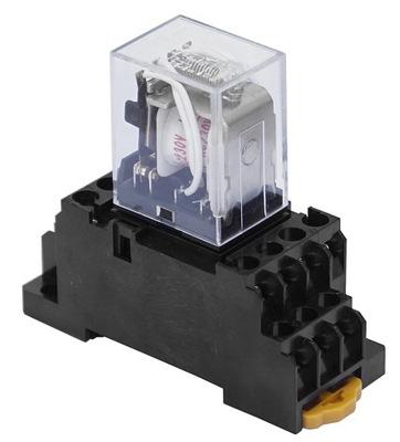 Контактор Реле 230 AC 2x5A 1x10A с Подставкой