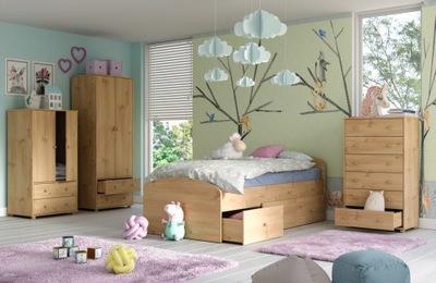 комплект мебель подросток шкаф кровать комод НОВА