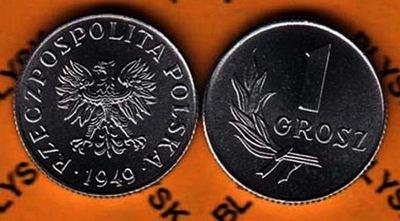 1 КОПЕЙКИ 1949 года.AL. 1000 штук Instagram Монеты И/-И