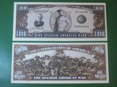 One Million Банкноты ??? Война Испанская 1898-1898