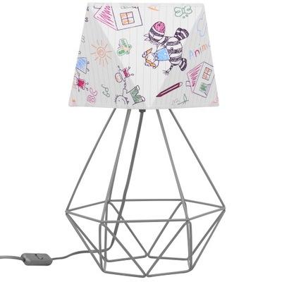 лампа НОЧНАЯ для Детей стоящая Детская АБАЖУР