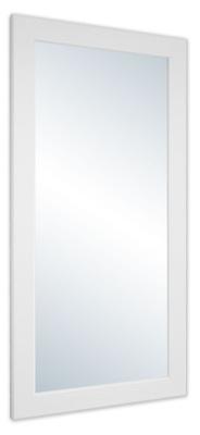 зеркало в раме 180x70 белое Венге черные венге микс