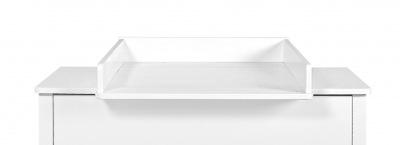 Novelies Zara prebaľovací stôl na toaletný stolík biela