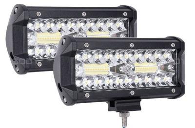 Комплект 2 x Галоген лампа рабочая LED - 120W 10-30V