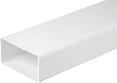Вентиляционная труба плоский 110x55 1м