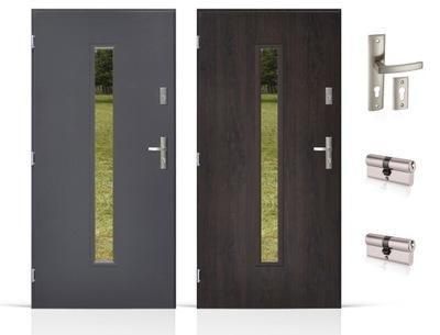 двери Внешние 72мм ТОЛСТЫЕ ПЕНА 80 /90