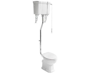 WC Žehliaca DOSKA set RETRO nádrž visí
