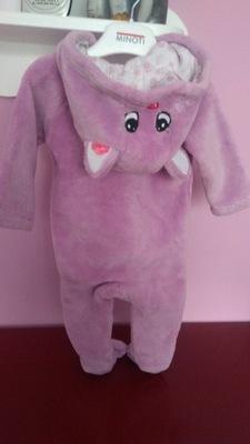 0642f762dfef97 Kombinezon pajac z polaru piżama roz. M wyprzedaż - 7456696163 ...