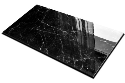 плитки Плитка керамогранит Черный Мрамор 120X60 CERAL