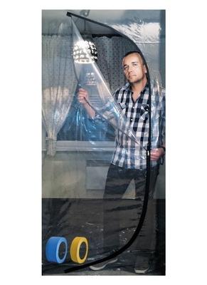 двери пылевых фольги ремонт воздушно - пленка