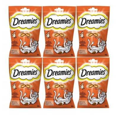 Dreamies с курицей 6 х 60 Г (360г)