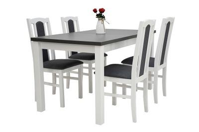 комплект ?????????? стол МАКС 5 + 4 стулья BOS 7