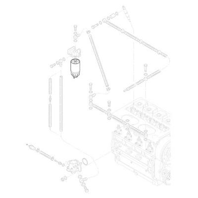 HATZ 50345700 фильтр топлива с odstojnikiem Серия L