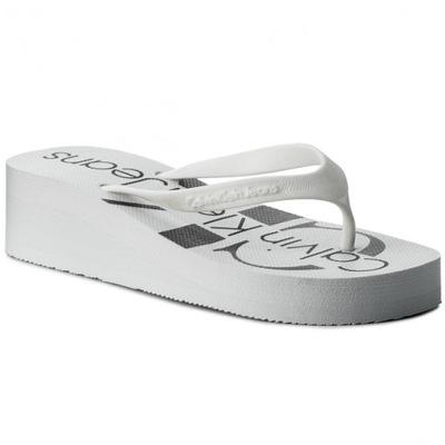 bbb0f6656 Japonki oryginalne białe 38 Płaski super buty - 7063726409 ...