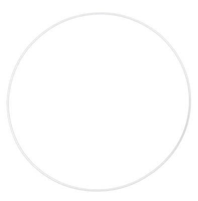 белая металлический обруч 6 см